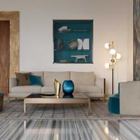 TR Band sofa_Larzia armchair_Pouf 414 ot