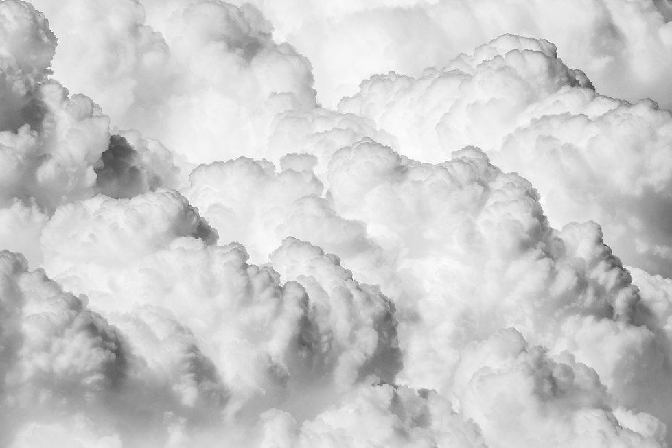 Nuvens fofas