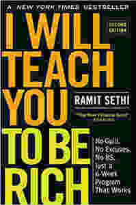 "The book cover of ""I will teach you to be rich"" by Ramit Sethi"