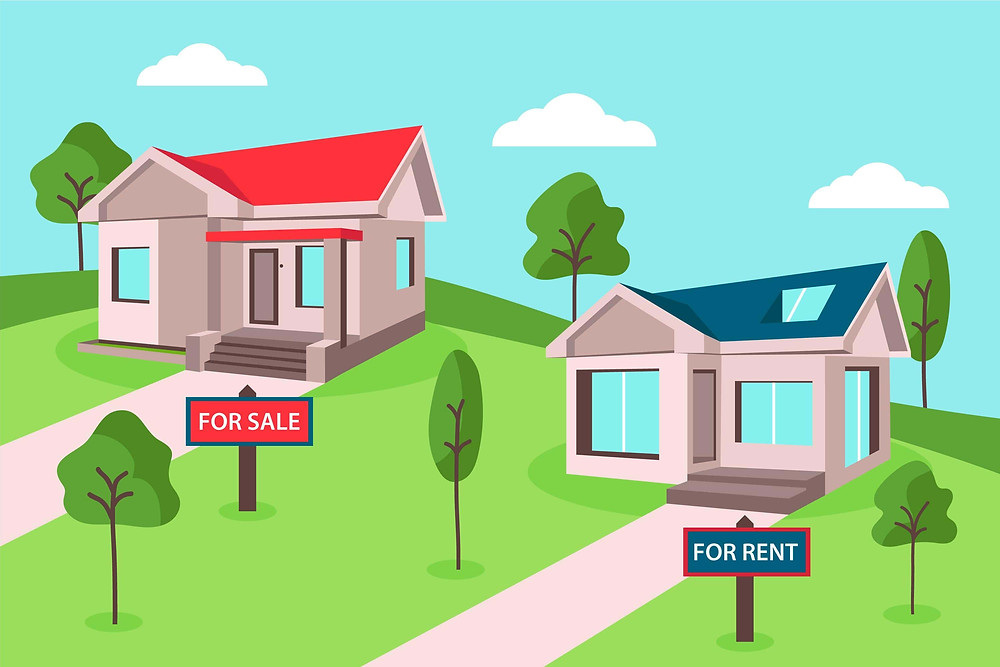 Rent vs buy a house