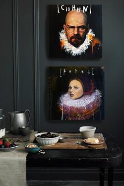 Portraits in situ