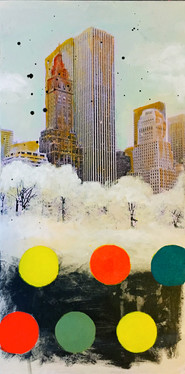 SNOW IN MANHATTAN - SOLD