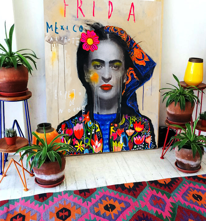 FRIDA BOHEME IN SITU