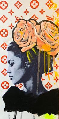 BB Roses forever - SOLD /DM for commission