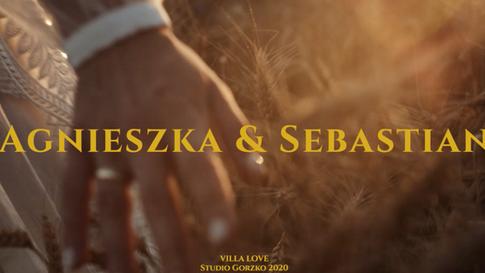 Agnieszka & Sebastian || Wesele w Villi Love