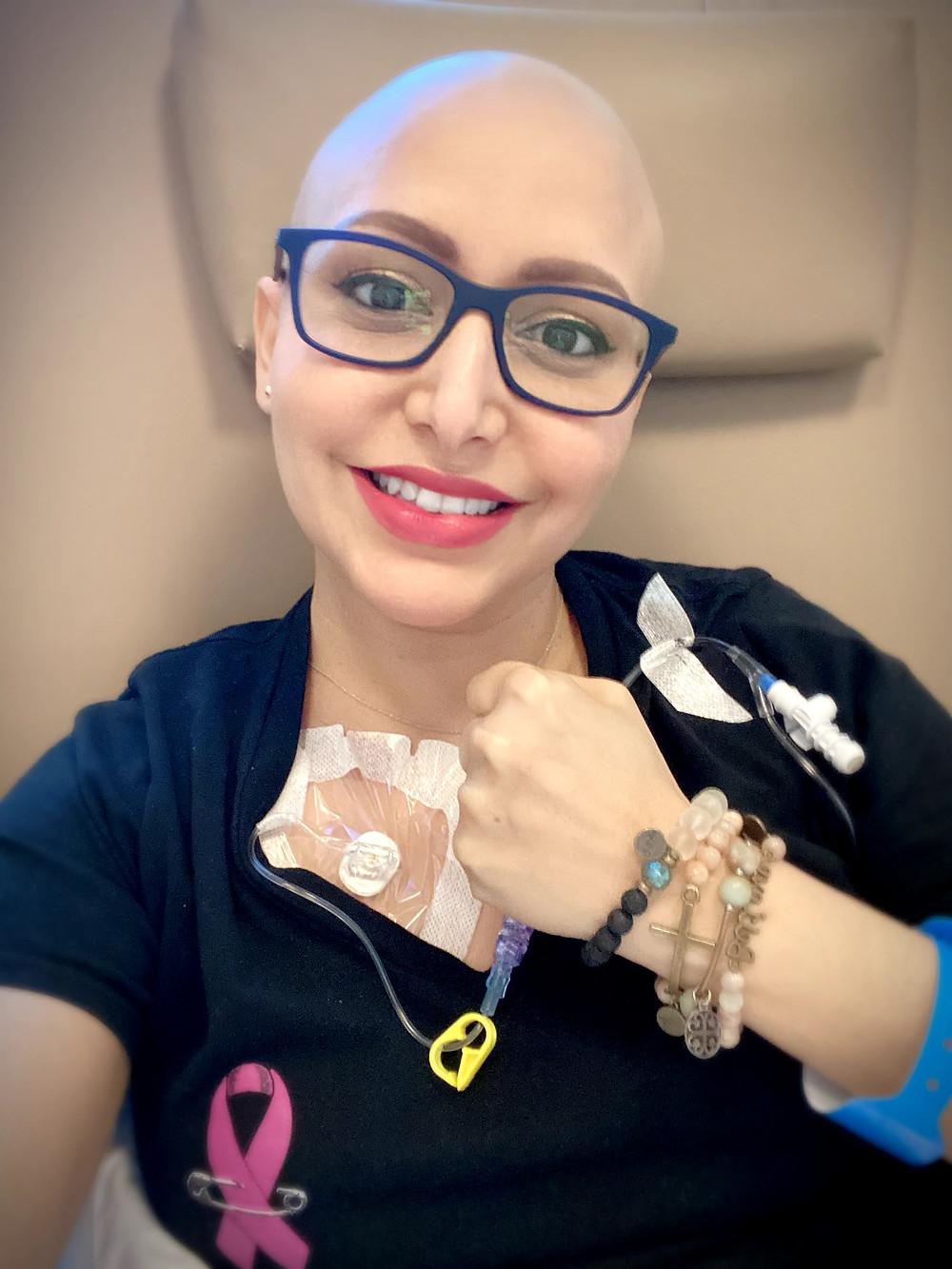 Chemo therapy treatment at Miami Cancer Institute
