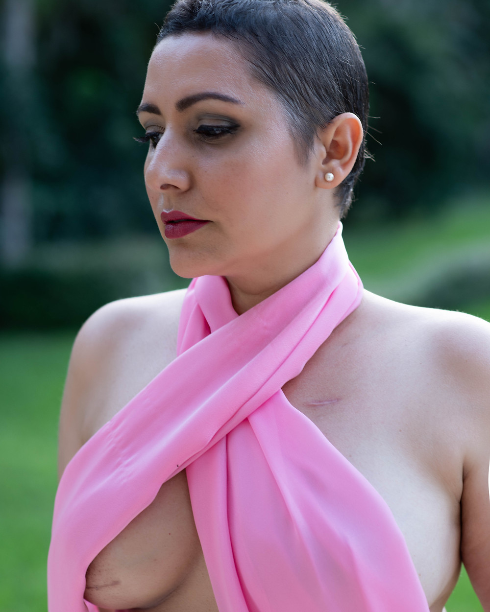 Breast Cancer Awareness, pink ribbon top