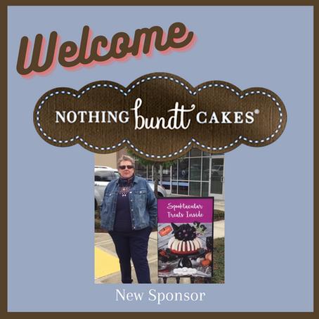 New Sponsor Nothing Bundt Cakes!