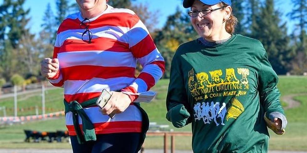 The Great Corn Maze & Pumpkin Run Challenge