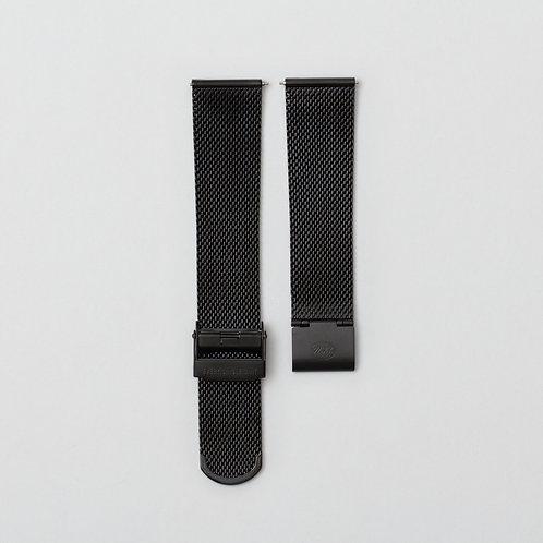 Black Milanese Bracelet