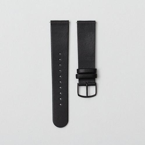 L01- Black Leather Strap