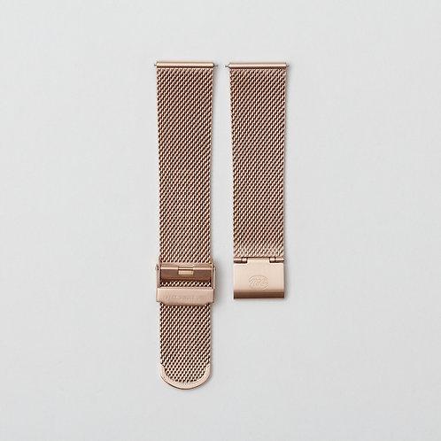 Rose Gold Milanese Bracelet