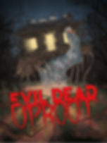 Evil Dead Uproot official art work