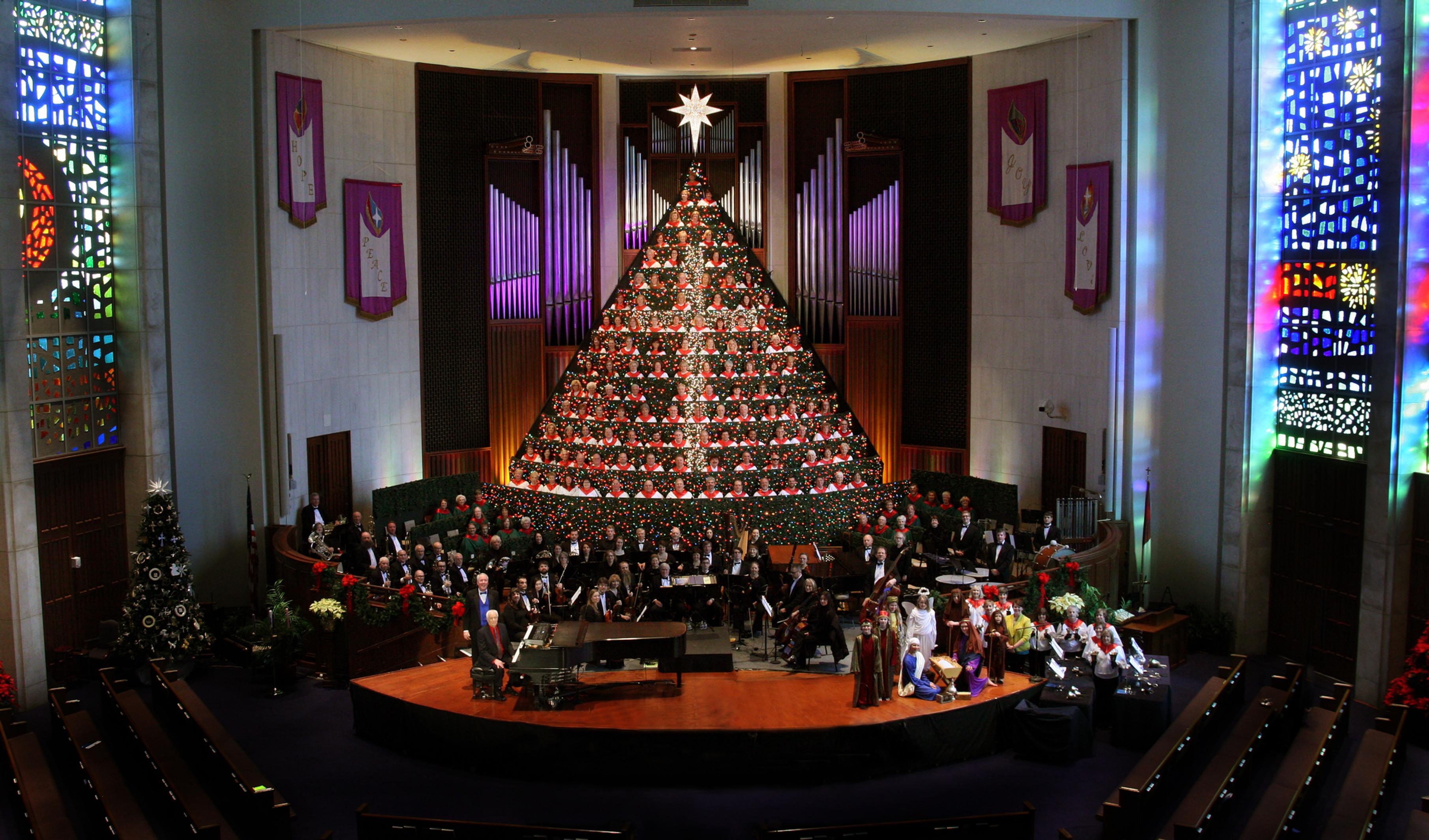 Living Christmas Tree | FBC Huntsville