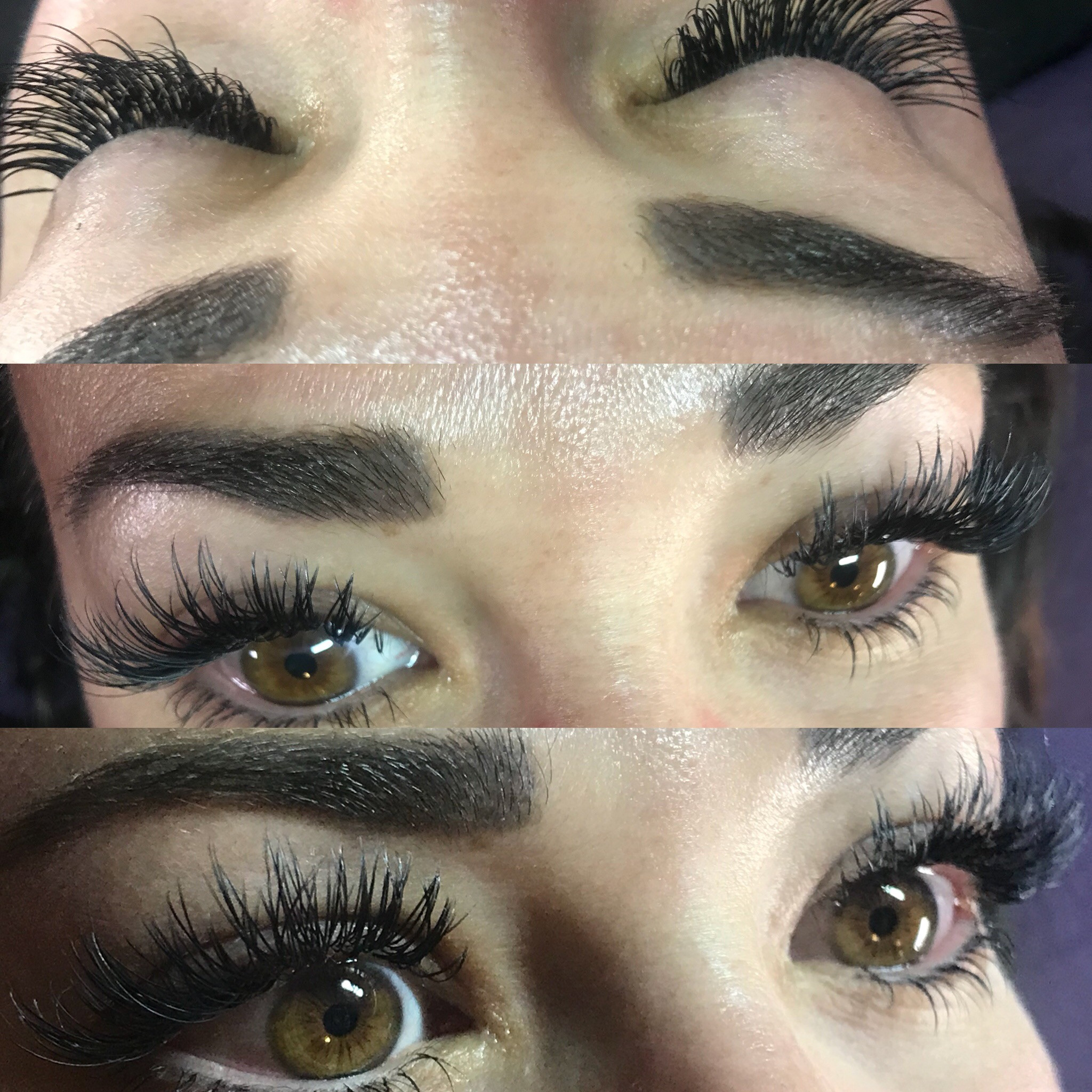 top and bottom eyelashes refill