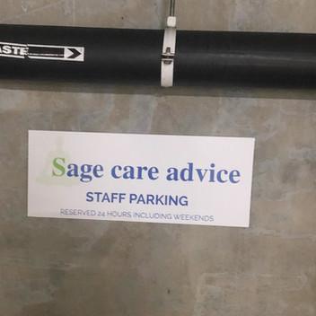Parking Signage