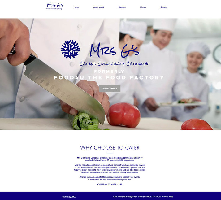 Mrs G's Corporate Catering Cairns