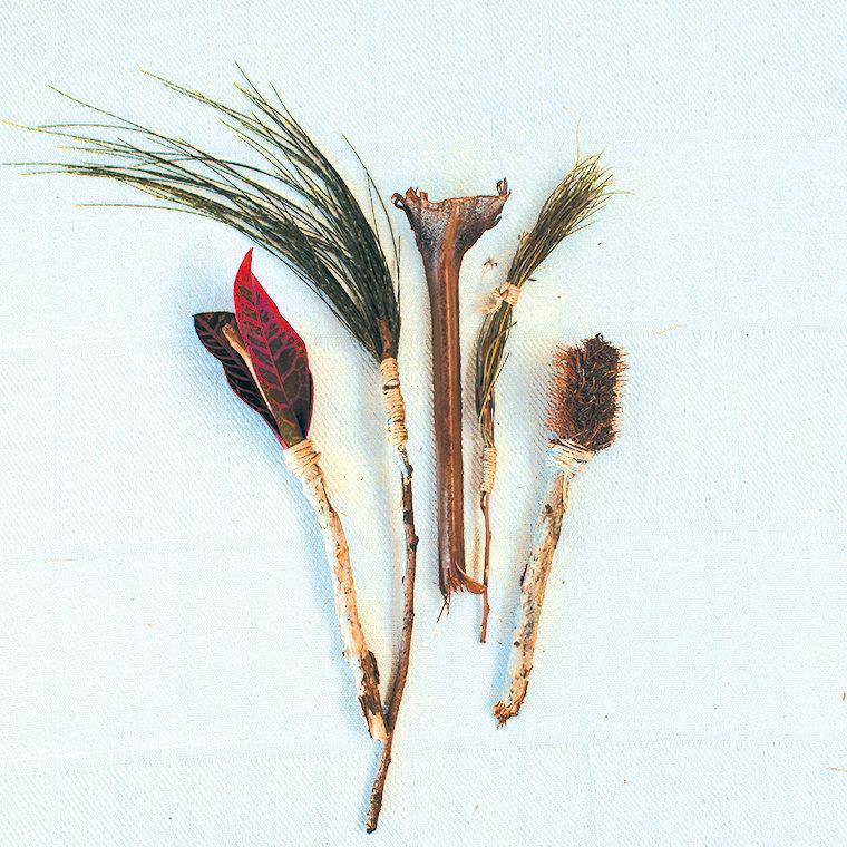Nature Tools and Mark Making