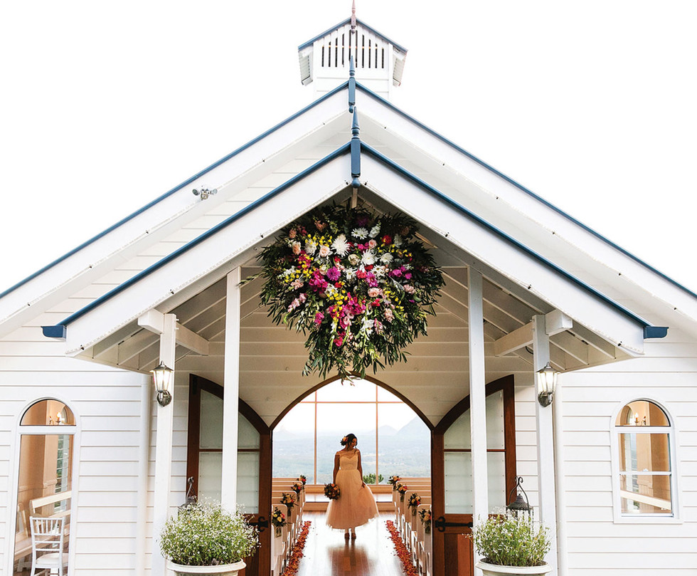 Weddings at Tiffanys Iconic Chapel