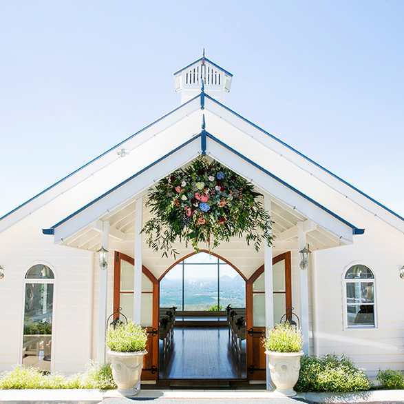Weddings at Tiffanys Chapel