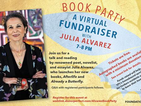Best-Selling Author Julia Alvarez Visits Yonkers