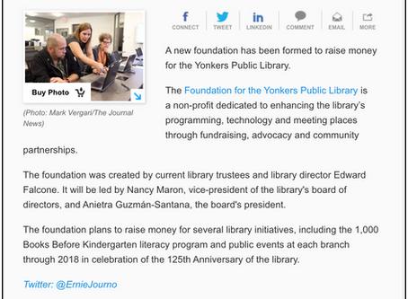 Lohud.com Features Foundation Launch