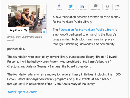Lohud.com Features Foundation Launch