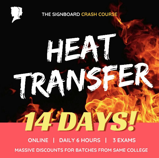 Heat Transfer, Crash Course