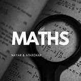 Maths for students of CBSE, ICSE, IGCSE, IB or State syllabus. (8th to 10th Standard)