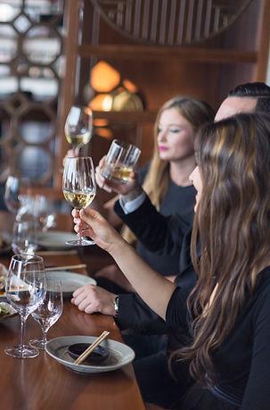 degustacije Weinverkostung