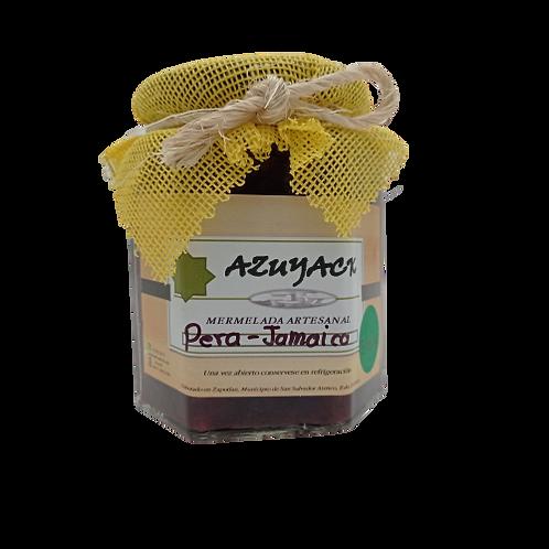 Mermelada Pera-Jamaica endulzada con Stevia