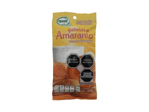 Galletas de amaranto con mermelada de piña Quali