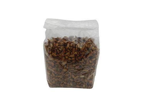 Semillas de girasol garapiñadas con piloncillo