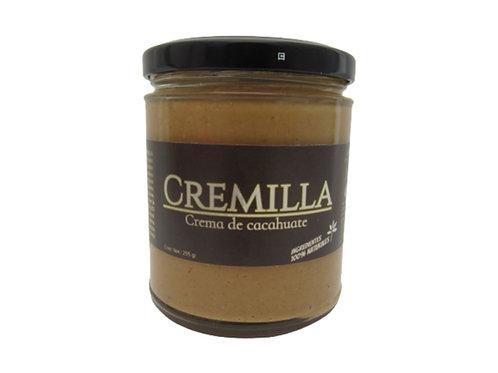 Cremilla de cacahuate con miel