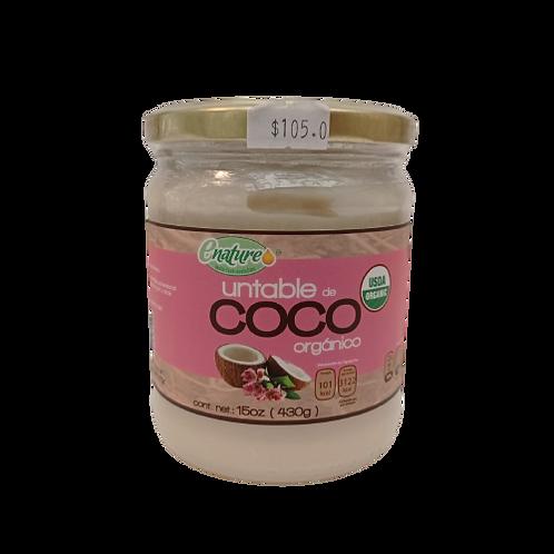 Untable de coco