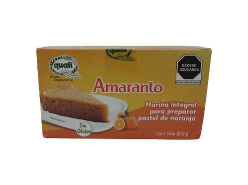 Harina para pastel Naranja Quali