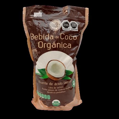 Bebida de coco orgánica