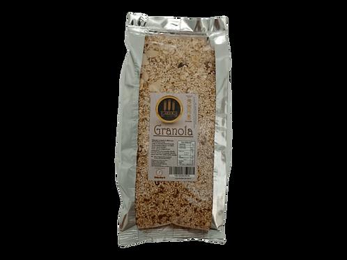 Granola con harina de chapulín