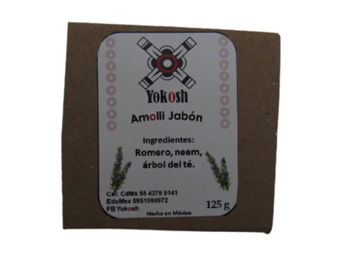 Jabón Yokosh con Romero, neem y árbol del té.