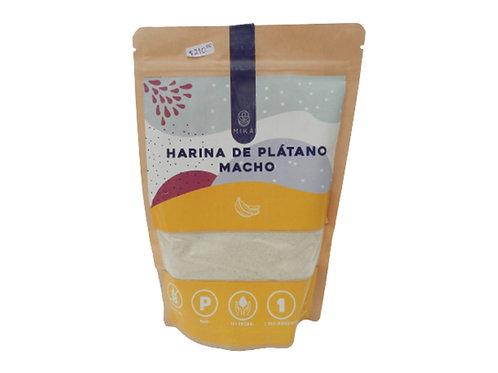 Harina de Plátano Macho sin gluten