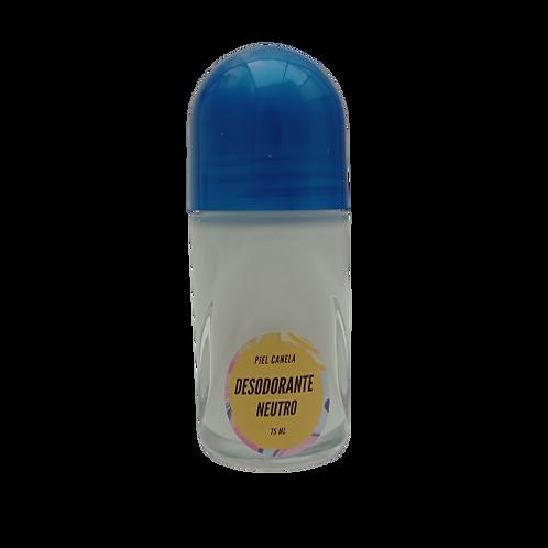 Desodorante Neutro Piel Canela