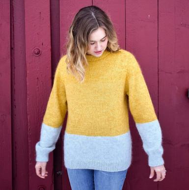 Kontrast genser