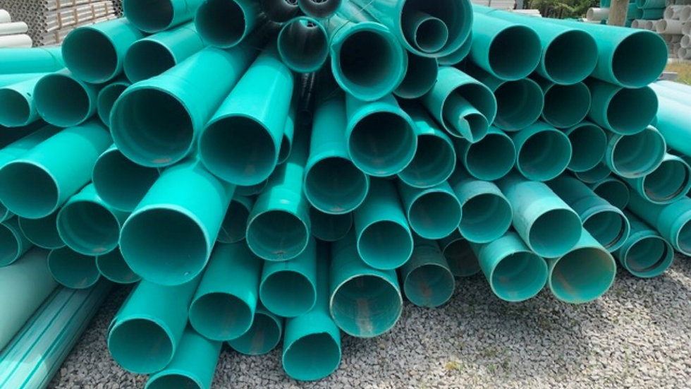 RR808B 10 truckloads of PVC extrusion grade pipe 30k to load on a flatbed only