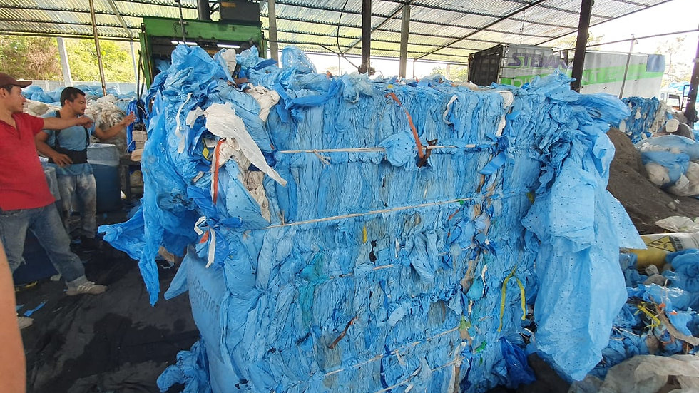 Offer RR2753N 300,000 lbs LDPE Banana film in bales, 25 ton per container