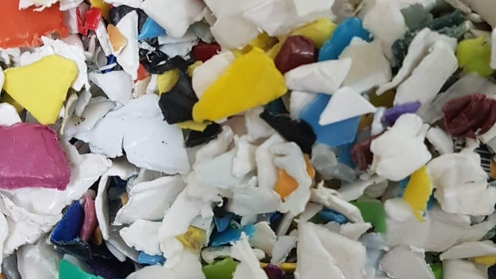 Offer RR4059B 80,000 lbs per month Post Consumer HDPE Mix color bottle hot washe