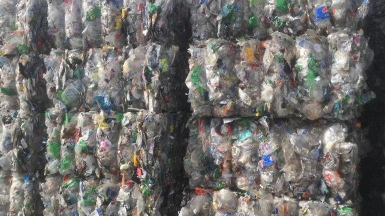 Offer RR3832R 120,000 lbs per week PET Clear/Green 95/5 Soda bottles in bales av