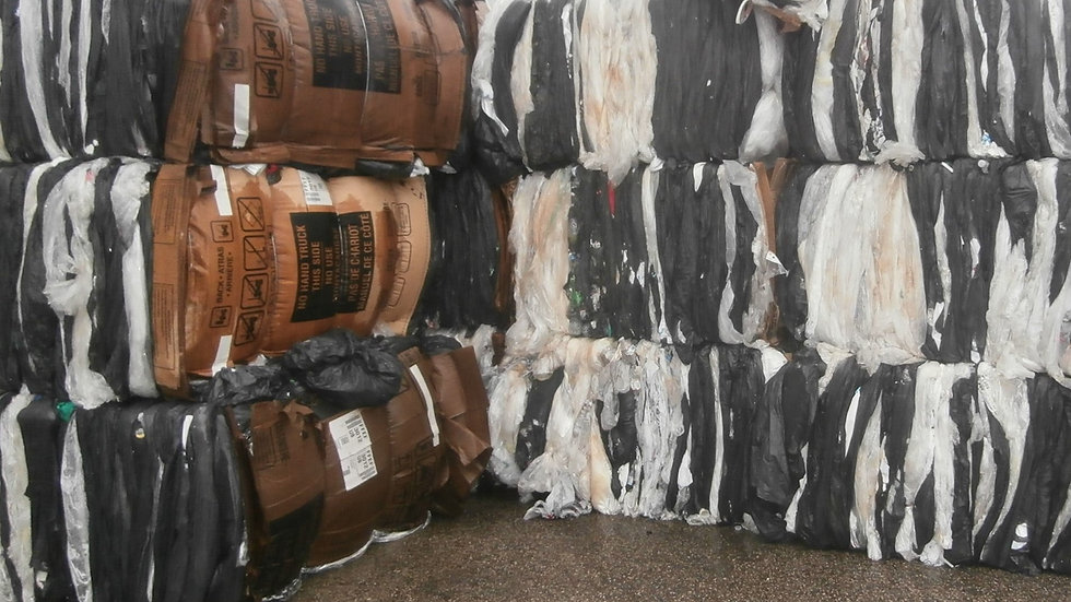 Offer RR4065A 35,000 lbs LDPE mix color film in bales from building materials FA