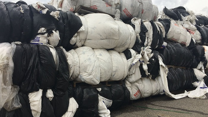 Offer RR4063A 400,000 lbs LDPE Mixed Color Film in bales available FAS Charlesto