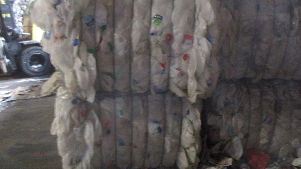 Offer RR4013E 40,000 lbs HDPE Natural Bottles in bales available FAS Portland
