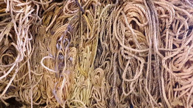 RR852G 80,000 lbs Nylon rope in bales available